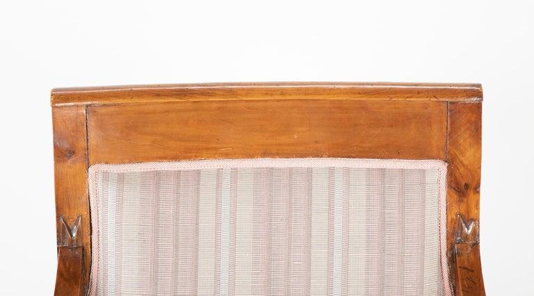 Pair of Biedermeier Armchairs For Sale 2