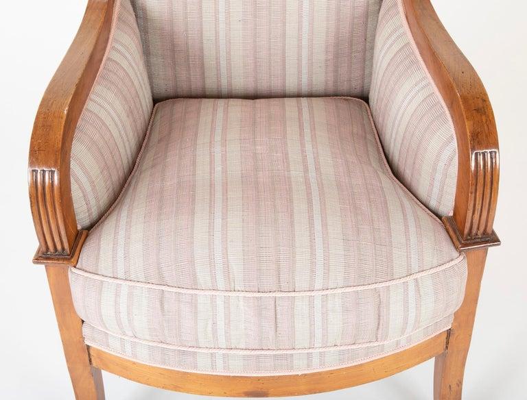 Pair of Biedermeier Armchairs For Sale 3