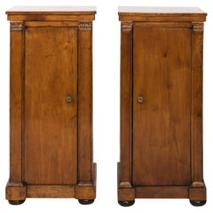 Pair of Biedermeier Nightstands