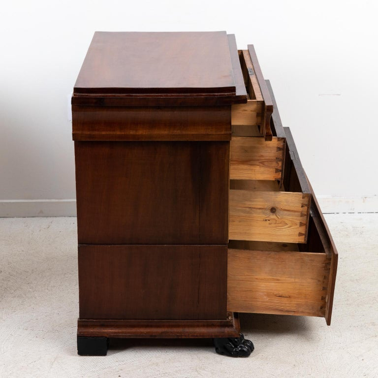 Pair of Biedermeier Style Chest of Drawers For Sale 3