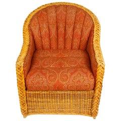 Pair of Bielecky Wicker Armchairs