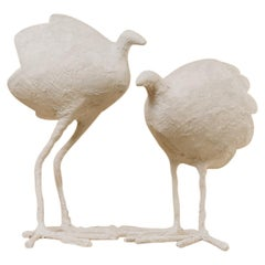 """Pair of """"bird"""" Table Lamps"""