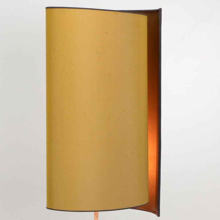 Pair of Bitossi Lamps for Bergboms, with Custom Made Shades by Rene Houben For Sale 4