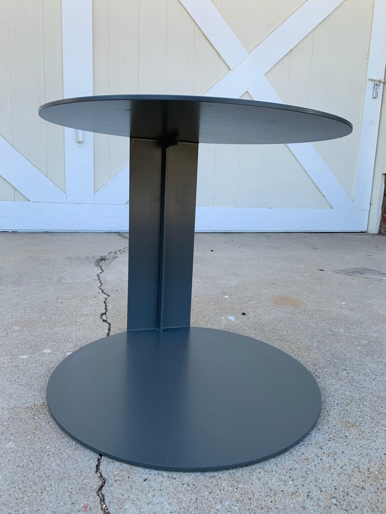 Pair of Blog Side Tables Made in Italy by Verzelloni For Sale 2