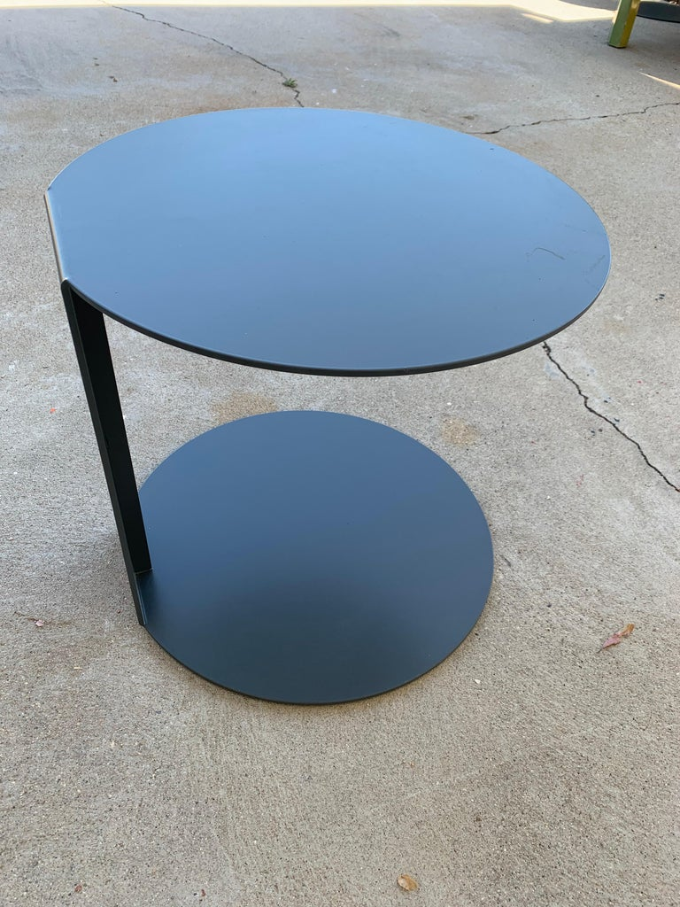 Pair of Blog Side Tables Made in Italy by Verzelloni For Sale 6