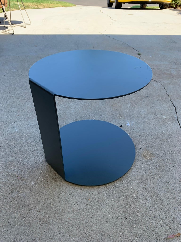 Pair of Blog Side Tables Made in Italy by Verzelloni For Sale 7