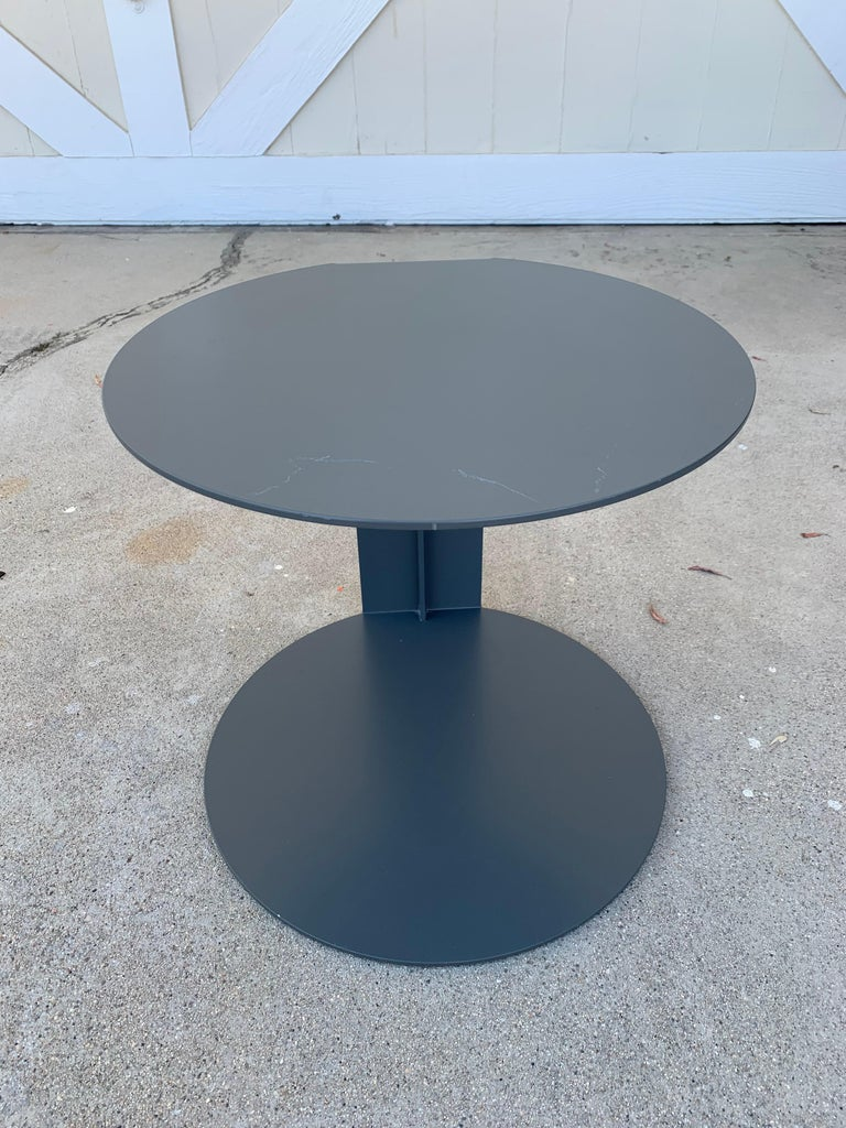 Modern Pair of Blog Side Tables Made in Italy by Verzelloni For Sale
