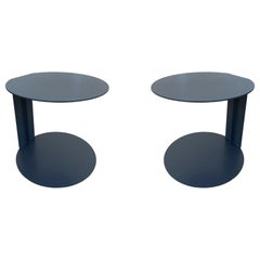 Pair of Blog Side Tables Made in Italy by Verzelloni