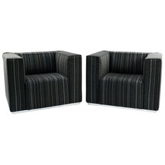 Pair of Blox Armchairs by Cassina