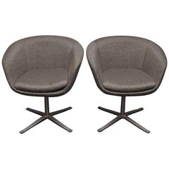 Pair of Bob Swivel Chairs by Pearson Lloyd for Coalesse
