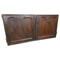 Pair of Boiserie Cabinet Doors