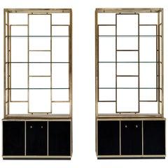 Pair of Bookcase Attributed to Romeo Rega