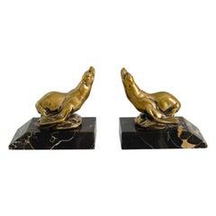 Pair of Bookens Seal Figure 'Art Deco'