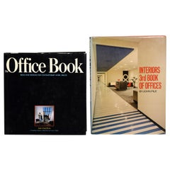 Pair of Books on Office Interiors, First Edition's