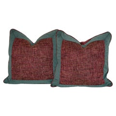 Handmade Bordered Pillows