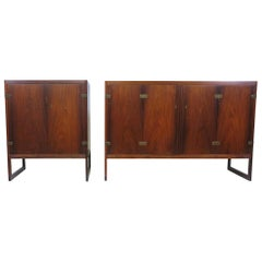 Pair of Borge Mogensen Rosewood Cabinets Model BM 57