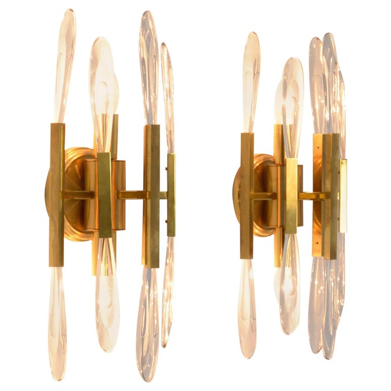 Pair of Boulanger Wall Sconces For Sale