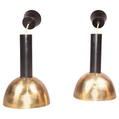 Pair of Brass Chandelier