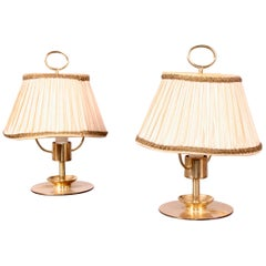 Pair of Brass Table Lamp