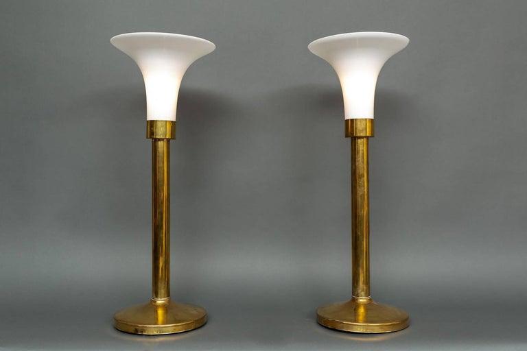 American Pair of Brass