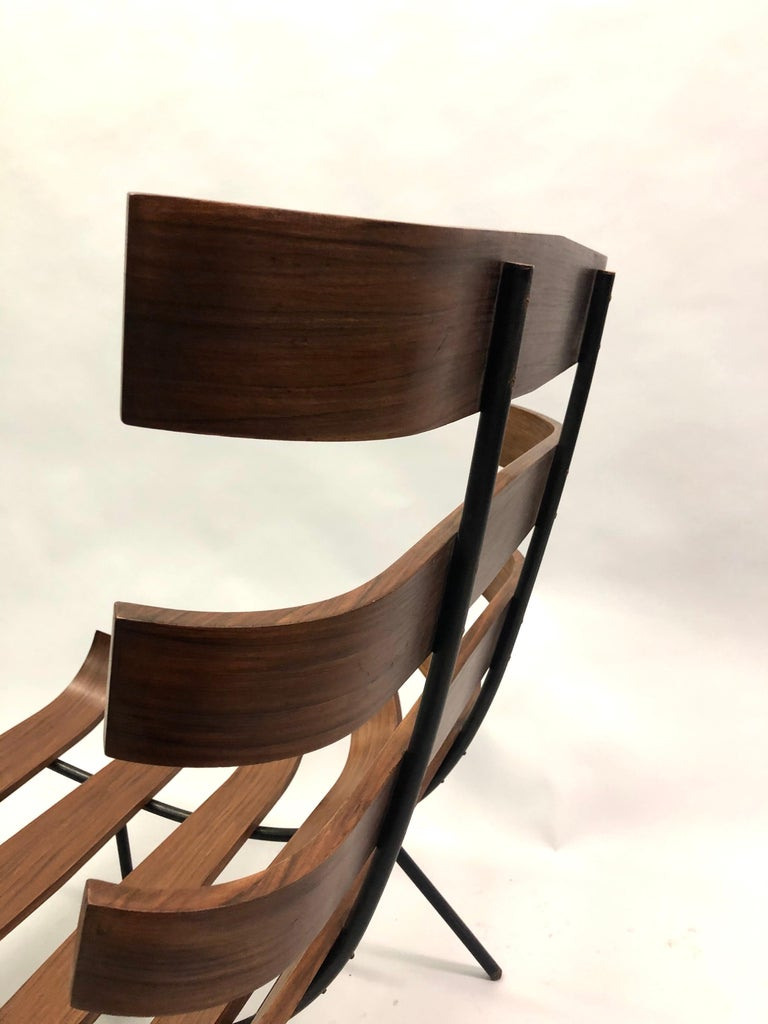 Pair of Brazilian 'Costela' Lounge Chairs by Carlo Hauner & Martin Eisler, 1954 For Sale 13
