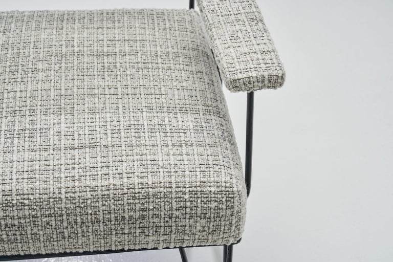 Pair of Brazilian Iron Armchairs, Brazil, 1950s For Sale 11