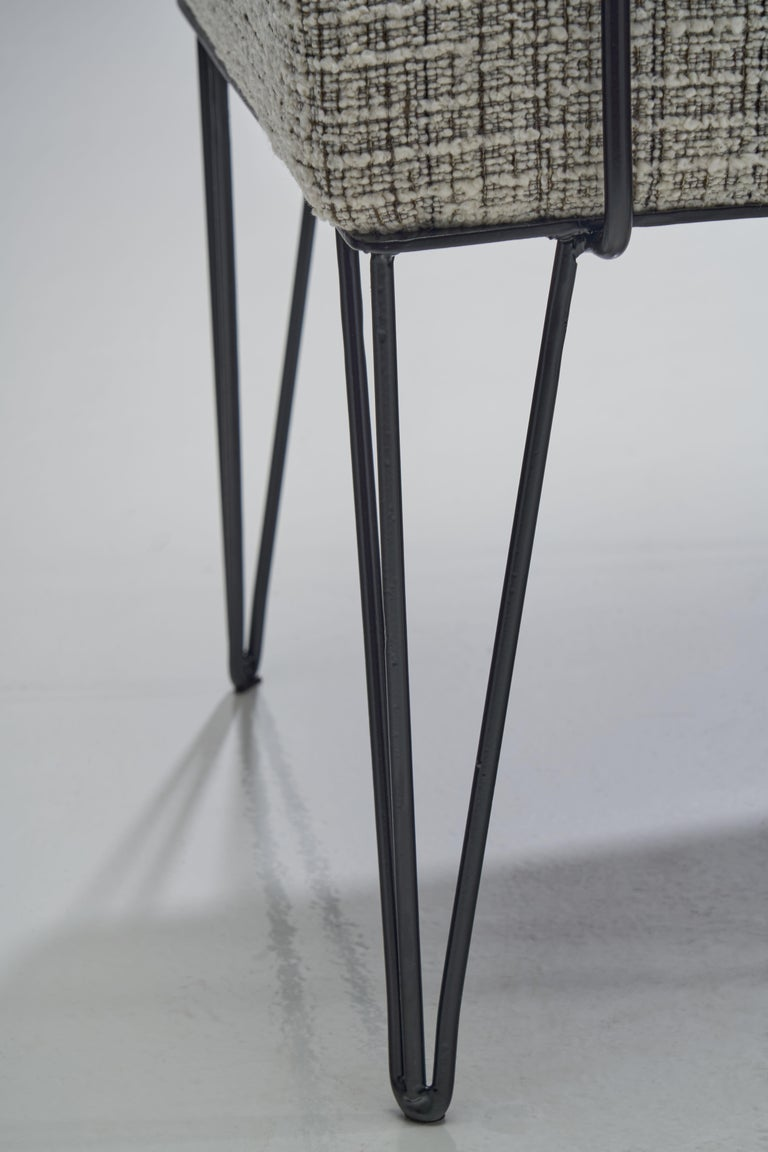 Pair of Brazilian Iron Armchairs, Brazil, 1950s For Sale 13