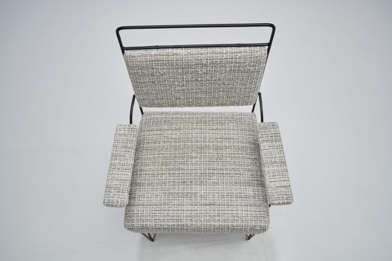 Pair of Brazilian Iron Armchairs, Brazil, 1950s For Sale 3