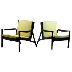 Pair of Brazilian Mid-Century Modern Armchairs from 1970