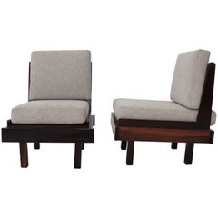 Pair of Brazilian Rosewood Armchair