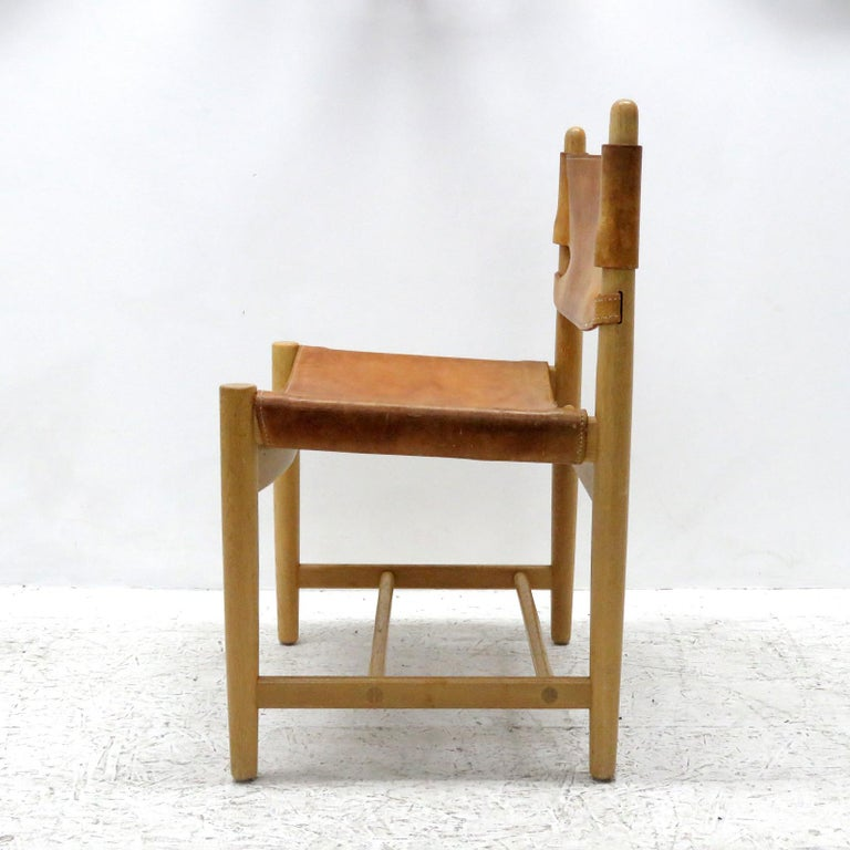 Danish Pair of Børge Mogensen 'Hunting' Chairs, Model 3237 For Sale