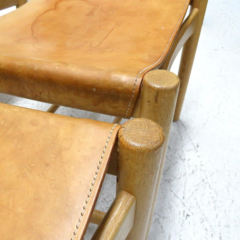 Pair of Børge Mogensen 'Hunting' Chairs, Model 3237 For Sale 2