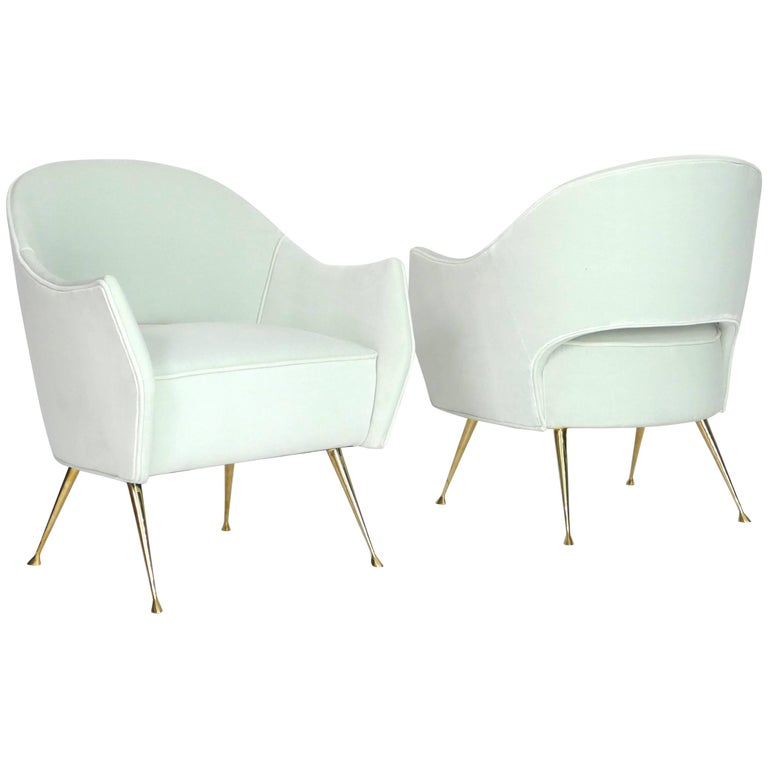 Pair of Briance Chairs by Bourgeois Boheme Atelier For Sale
