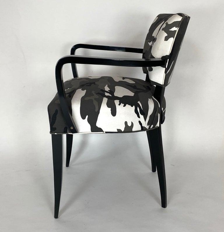 Pair of Bridge Chairs, Urban Camo For Sale 3