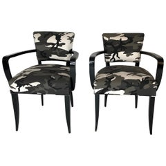 Pair of Bridge Chairs, Urban Camo