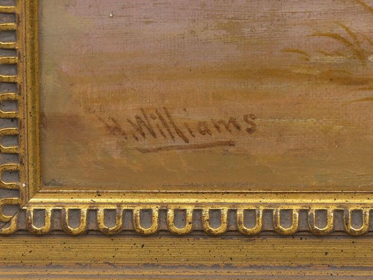 Pair of British School '19th Century' Scottish Highland Landscape Paintings For Sale 8