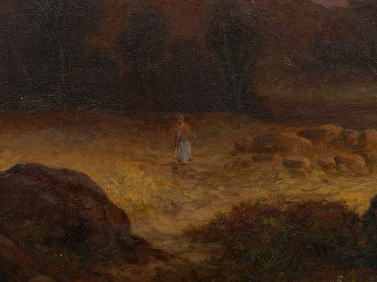 Pair of British School '19th Century' Scottish Highland Landscape Paintings For Sale 12