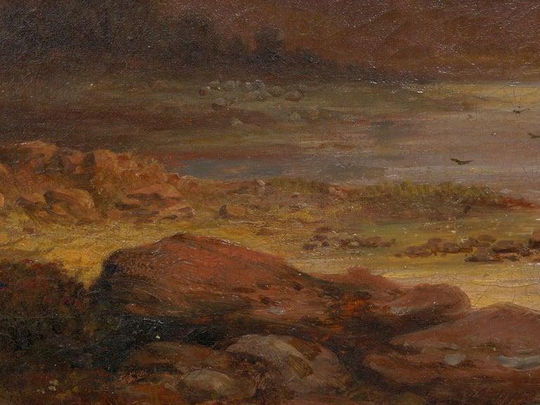 Pair of British School '19th Century' Scottish Highland Landscape Paintings For Sale 13