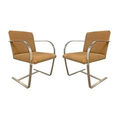 Pair of Brno Chairs by Mies van der Rohe