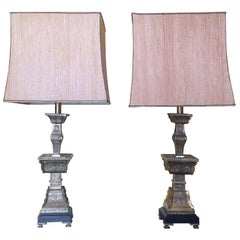 Pair of Bronze Lamps by Frederick Cooper