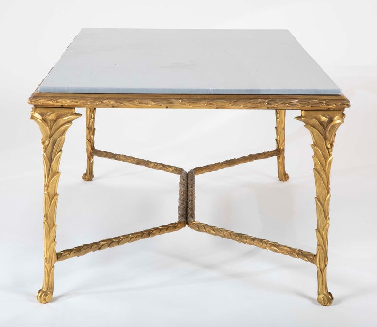 Pair of Bronze Maison Charles Coffee Tables For Sale 5