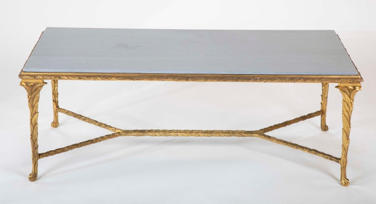 French Pair of Bronze Maison Charles Coffee Tables For Sale