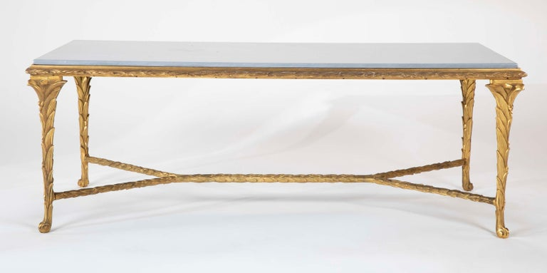Pair of Bronze Maison Charles Coffee Tables In Good Condition For Sale In Stamford, CT