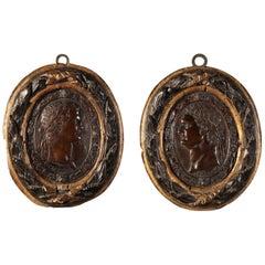 Pair of Bronze Medals Padua, 16th Century