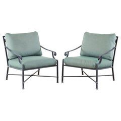 Pair of Brown Jordan Venetian Aluminum Patio Lounge Chairs