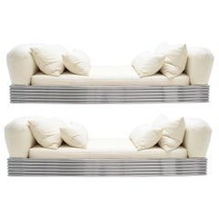 Pair of Brueton Radiator Beds