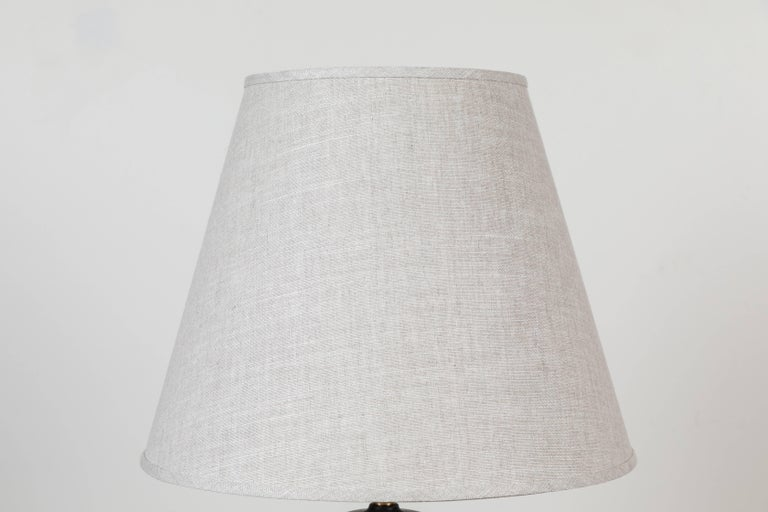 Pair of Bryce lamps by Stone and Sawyer for Lawson-Fenning.