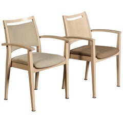 Pair of Buena Nova Chairs by Roland Schmidt for Brunner