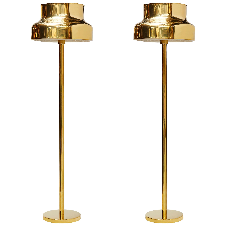 Pair of Bumling Floor Lamps by Anders Pehrson for Atelje Lyktan