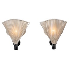 """Pair of """"Butterfly"""" Sconces by Afra and Tobia Scarpa for Flos"""